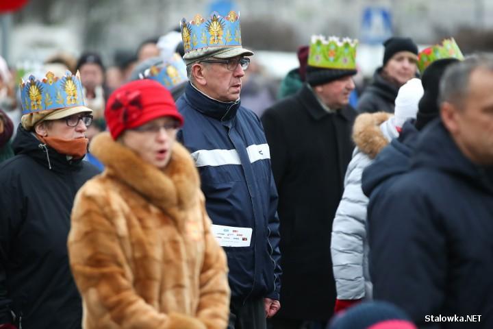 Orszak Trzech Króli w Stalowej Woli.