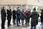 W Stalowej Woli przy udziale władz samorządowych, polityków, wykonawcy, poinformowano o zakończeniu budowy drogi przez dawne tereny Huty Stalowa Wola od ul. COP do ul. Solidarności drogi.