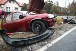 W miejscowości Zbydniów doszło do czołowego zderzenia dwóch pojazdów.