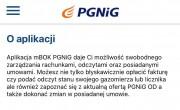 PGNiG jak czytamy na stronie internetowej daje możliwość swobodnego zarządzania rachunkami, odczytami oraz posiadanymi umowami.