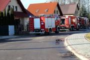 Do pożaru doszło w jednym z domostw na ulicy Żytniej w Stalowej Woli.