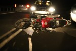 Do wypadku z udziałem motocyklisty doszło na Drodze Wojewódzkiej nr 855 w miejscowości Brandwica (gmina Pysznica).