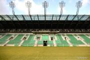 Jeżeli pojawiłyby się środki finansowe, obiekt hotelowo-szatniowy byłby zlokalizowany za trybuną główną stadionu piłkarskiego lub za ogrodzeniem stadionu w kierunku ulicy Hutniczej.
