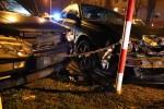 Do zderzenia trzech pojazdów doszło na ulicy Popiełuszki w Stalowej Woli.