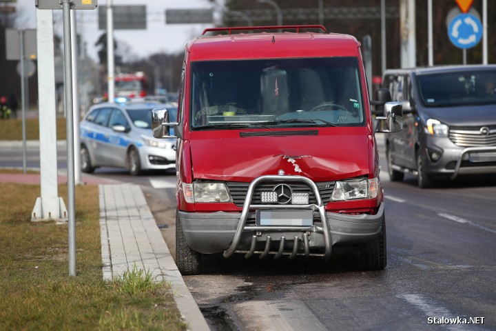 Na ulicy Energetyków w Stalowej Woli doszło do dwóch zdarzeń drogowych.