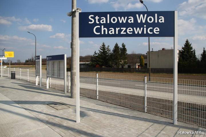 Nowy przystanek kolejowy Stalowa Wola-Charzewice dostępny dla podróżnych.