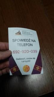Proboszcz parafii pod pozwaniem Trójcy Przenajświętszej w Stalowej Woli zaprasza do spowiedzi na telefon. Ma to związek z epidemią kornawirusa.
