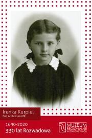 Jako pierwsza w rolę przewodnika wcieli się Irenka Kurpiel, która urodziła się w Rozwadowie, mieszkała w nim 19 lat.