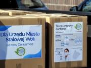 Dziś zarząd firmy przekazał na rzecz Urzędu Miasta w Stalowej Woli pakiet środków ochronnych do rozdysponowania wśród najbardziej narażonych grup.
