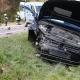 Stalowa Wola: Zderzenie trzech aut w Przyszowie na drodze powiatowej. Jedna osoba ranna