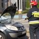 Stalowa Wola: Pożar auta na parkingu przy prokuraturze