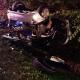 Stalowa Wola: 2 osoby ranne w dachowaniu samochodu