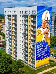Prezydent Stalowej Woli Lucjusz Nadbereżny poinformował na swoim profilu FB, że powstanie mural upamiętniający świętego Jana Pawła II. Na projekt ma zostać ogłoszony konkurs.
