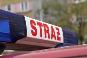 Do groźnego pożaru doszło na ulicy Harcerskiej w Stalowej Woli.