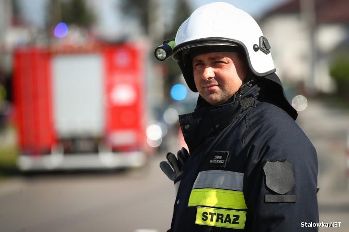 Do wypadku doszło na ulicy Wolności w Pysznicy. Jedna osoba została ranna.