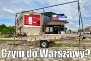 Czym do Warszawy?