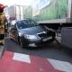 Stalowa Wola: DK77: osobówką wjechał pod skręcającą ciężarówkę