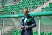 Nowy prezes PSA Stal Stal Stalowa Wola Tomasz Solecki.