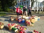 Przez 7 tygodni 18 wolontariuszy przygotowało 1199 paczek z żywnością o łącznej wadze 25 350 kg. Poświęcili temu 466 godzin pracy.