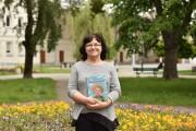 Janina Wań wydała książkę dla dzieci pod tytułem Niesforny Aniołek.