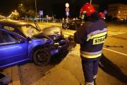 Do groźnie wyglądającego wypadku doszło na skrzyżowaniu na górce rozwadowskiej.