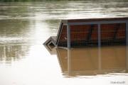Na szczęście nie sprawdziły się czarne scenariusze meteorologów. Opady deszczu ustają, wskutek czego przyrost wody na rzece San jest mniejszy niż prognozowano.