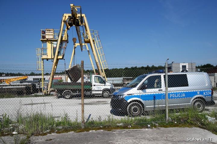 Do wypadku przy pracy doszło na terenie jednej z firm na ulicy Przemysłowa-Boczna w Stalowej Woli.