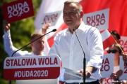 W gminie Stalowa Wola na Andrzeja Dudę głosowało 14647 wyborców, na Rafała Trzaskowskiego - 6925.