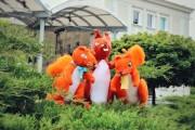 W okresie wakacyjnym na tytułowym tarasie przed fontanną przy MDK, będą dostępne różne atrakcje.