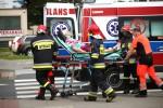 Do wypadku doszło na ulicy Okulickiego w Stalowej Woli. Piesza weszła na przejście na pieszych od strony dworca PKS.