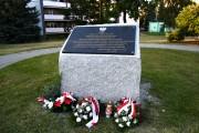 Po Mszy Świętej przy skwerze pn. Pamięci Ofiar OUN-UPA, na kamieniu odsłonięto tablicę pamiątkową, jako dar od Społeczeństwa Stalowej Woli, ufundowaną przez Urząd Miasta.