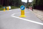 W Stalowej Woli na ulicy Wrzosowej na osiedlu Hutnik powstała pierwsza szykana, która ma zniechęcić kierowców tranzytowych do jazdy przez osiedle.