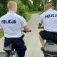 Stalowa Wola: Policjanci na rowerach patrolują nadsańskie błonia