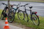 Do zdarzenia z udziałem rowerzystów doszło na ulicy Energetyków w Stalowej Woli.