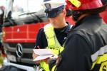 Strażacy zneutralizowali zagrożenie z jezdni. Ruch po kilkunastu minutach został w całości przywrócony.