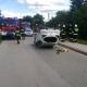 Stalowa Wola: Majdan Zbydniowski. Mitsubishi dachowało przed szkołą