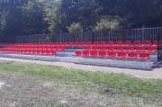 W ostatnim czasie na stadionie Klubu Sportowego Czarni Lipa rozebrano starą trybunę a w jej miejsce zamontowano nową, systemową o konstrukcji stalowej na 201 miejsc.