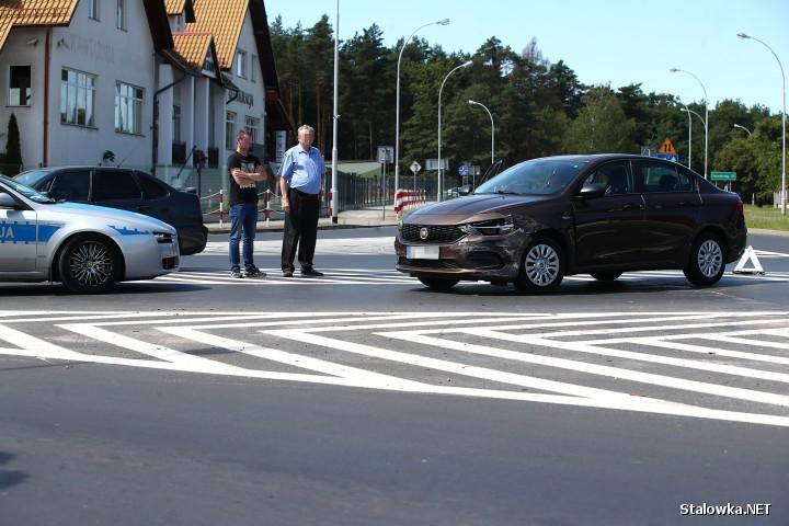 Przy Nadleśnictwie Rozwadów doszło do kolizji dwóch pojazdów.