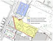 Od 27 lipca w związku z pracami budowlanymi przy miejskim basenie krytym na ulicy Hutniczej, obowiązuje zmieniona organizacja ruchu.