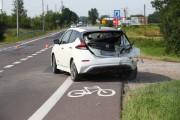 Do wypadku doszło w Pysznicy na skrzyżowaniu ulicy Władysława Szubargi z ulicą Folwarczną.