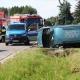 Stalowa Wola: Pysznica: dwoje nastolatków wjechało do rowu. Trafili do szpitala