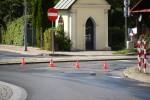Na ulicy Rozwadowskiej przy tzw. domu generała doszło do potrącenia dziecka jadącego rowerem.