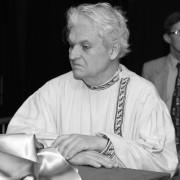 Emil Brzoza podczas premiery spektaklu Wujaszek Wania w lutym 2011 roku.