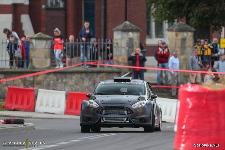 Krzysztof Faraś brał udział w Górskich Samochodowych Mistrzostwach Polski - Prządki - Valvoline (gmina Korczyna).