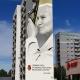 Stalowa Wola: Rozmodlone oblicze św. Jana Pawła II na muralu