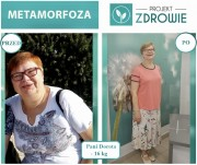 Przedstawiamy Wam Panią Dorotę, która dzięki swojej ciężkiej pracy i wytrwałości schudła 16 kg w projekcie Zdrowie!