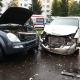 Stalowa Wola: Czołowe zderzenie na Poniatowskiego vana z SUV-em