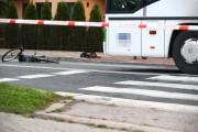 Na ulicy Rozwadowskiej doszło do potrącenia rowerzysty przez autobus.