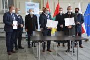 W Stalowej Woli podpisano umowę na opracowanie projektu mostu przez rzekę San w Stalowej Woli i Brandwicy wraz z nowym odcinkiem drogi wojewódzkiej nr 855.