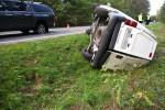Pomiędzy Stalową Wolą a miejscowością Przyszów doszło do wypadku drogowego, w którym jedna osoba została ranna.